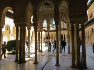 Martin: el interior de la Alhambra