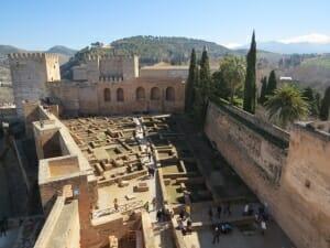 Martin: las residencias militares de la Alhambra